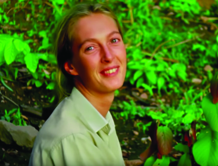 """Jane Goodall as herself in the 2017 documentary """"Jane."""""""