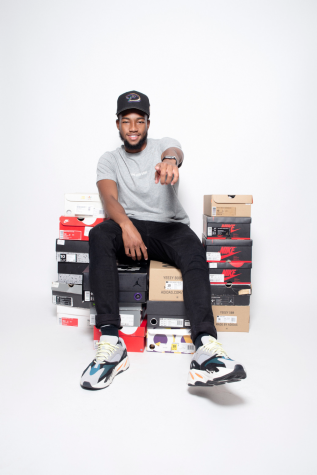 Student Runs One Stop Sneaker Shop