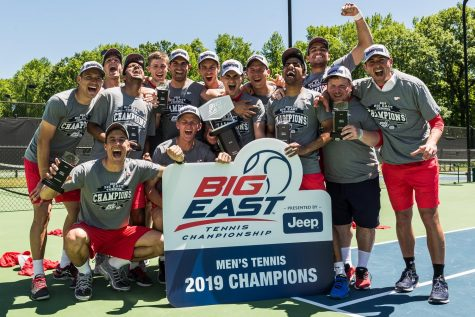 Men's Tennis Win Big East Championship
