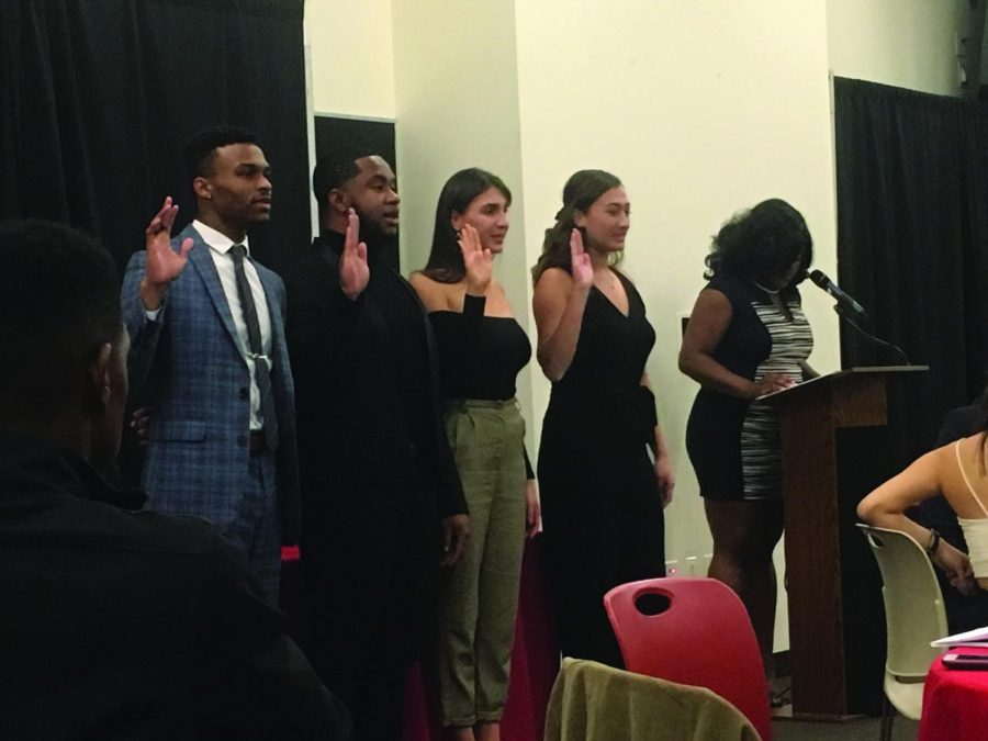 Members Sworn in at SGI Inaugural Dinner