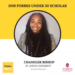 Chandler Bishop: Forbes 30 Under 30 Scholar