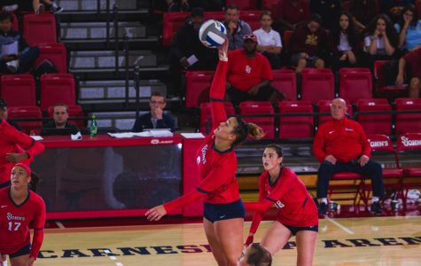 How Sweep It Is For Women's Volleyball