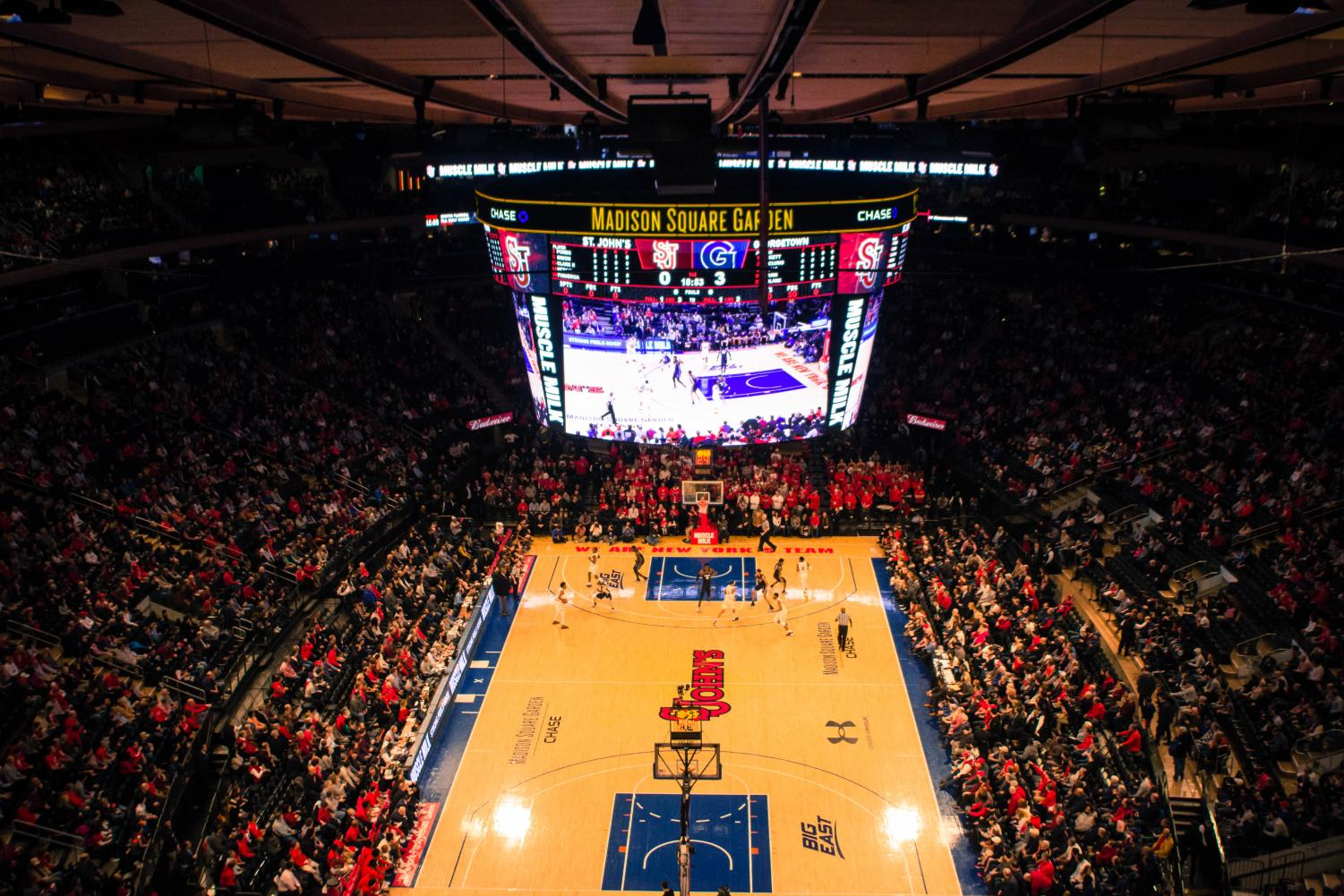 St. John's will play at Madison Square Garden seven times during Big East play.