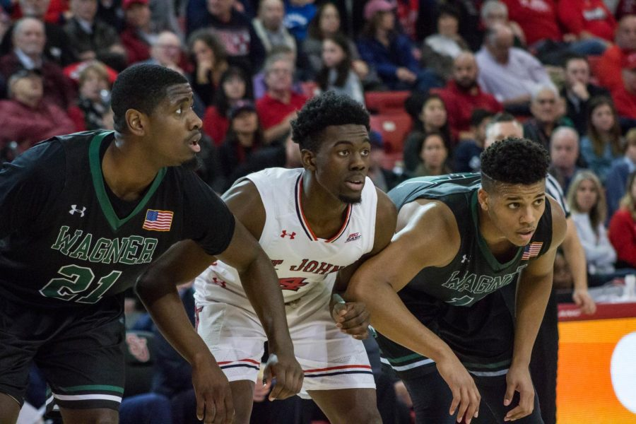St. John's will play Wagner on Saturday Nov. 30 at Carnesecca Arena
