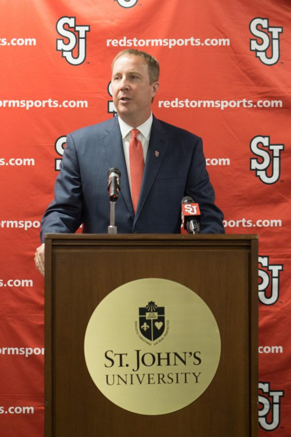 St. John's Athletic Director Mike Craig said,