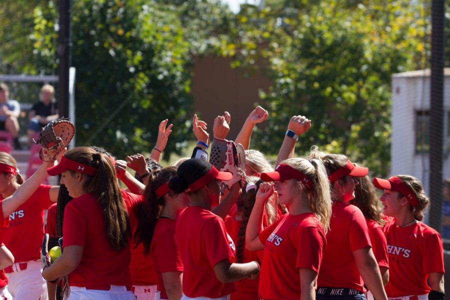 St. John's Softball is 2-2 on their fall season as they return home Oct. 12 against Rider