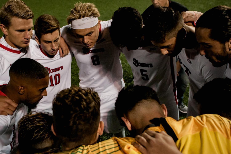 St. John's Men's Soccer remains unbeaten at Nelson Stadium this year after winning on Saturday against Villanova.