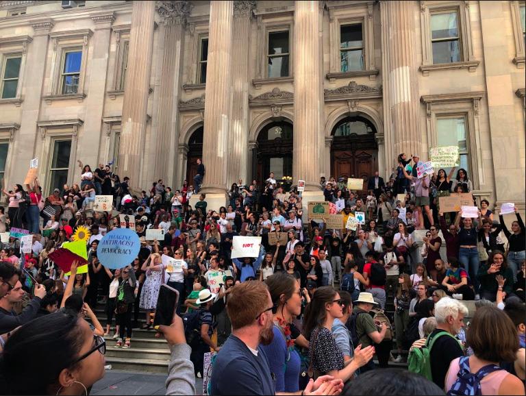 Children Strike Back Against Climate Change