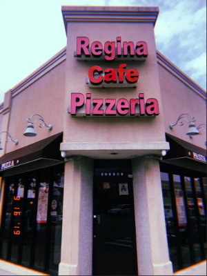 Regina Cafe Pizzeria, located at the intersection of Union Turnpike and Utopia Parkway, is a student favorite for their fresh slices.