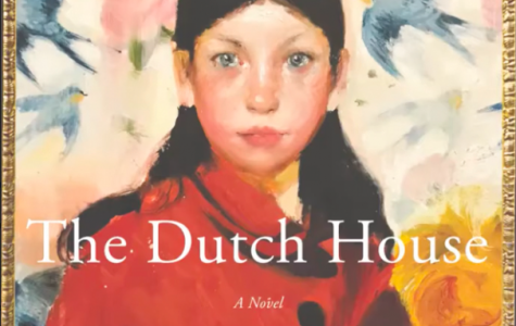 """The Dutch House"" audiobook cover, narrated by Tom Hanks"