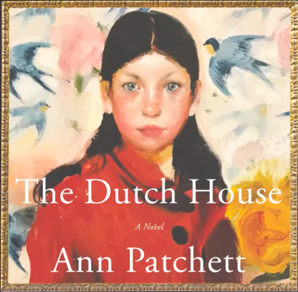 """""""The Dutch House"""" audiobook cover, narrated by Tom Hanks"""