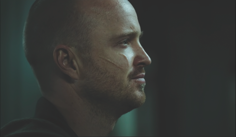 "Aaron Paul returns as Jesse Pinkman in Netflix's ""El Camino: A Breaking Bad Movie."""