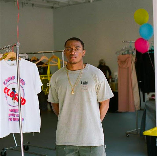 'Yos Apparel' Founder, Carnegie-Salmon Jr.