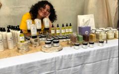 Senior Melissa Arpino Crafts Organic Skincare Line
