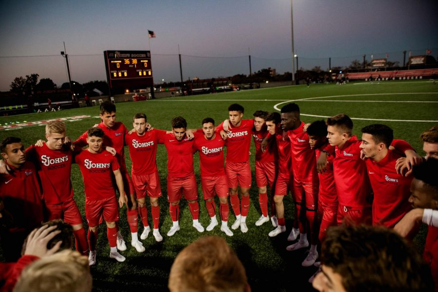 With their 4-2 win over DePaul on Saturday night, St. John's Men's Soccer  will have a first round bye in the Big East Tournament.