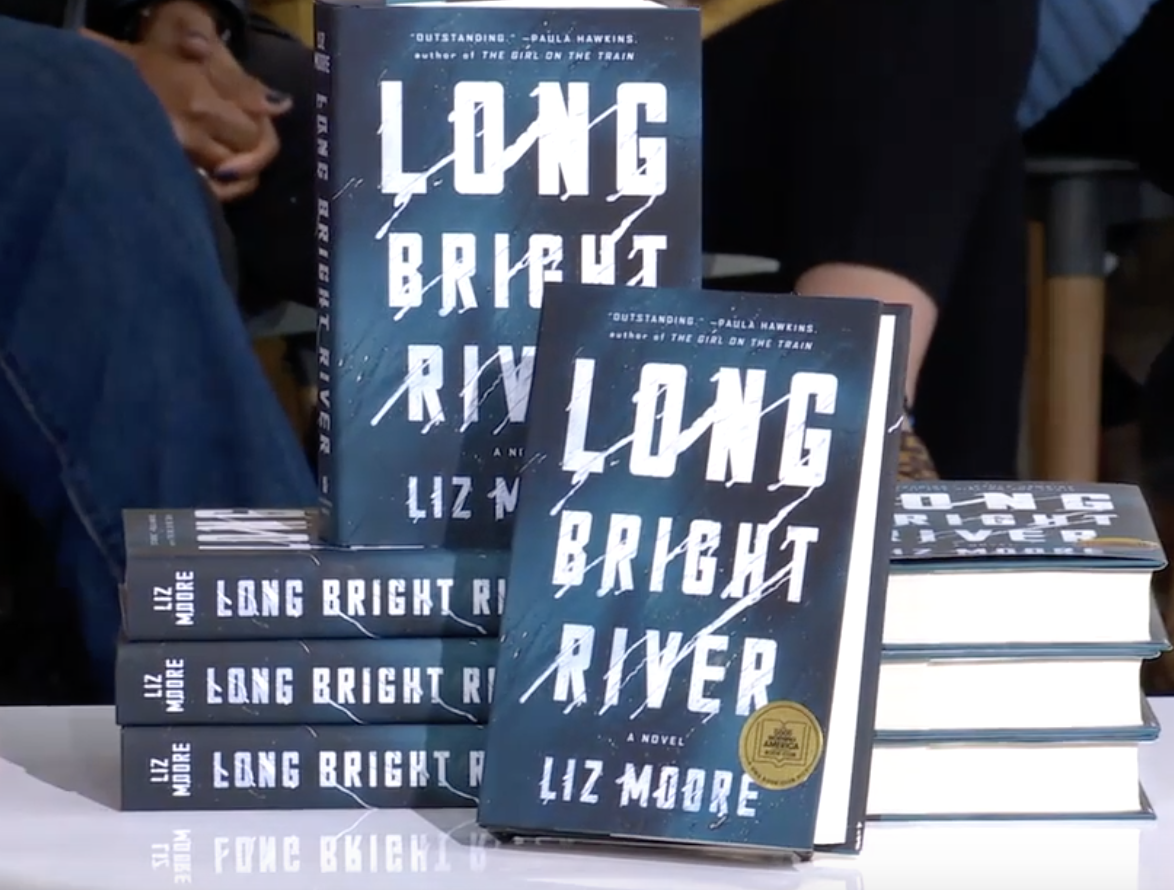 """""""Long Bright River"""" by Liz Moore, published earlier this month, tackles the opioid epidemic ravaging our neighborhoods. Photo Courtesy/ Youtube Good Morning America"""