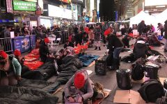 Students Brave the Cold in World's Big Sleep Out