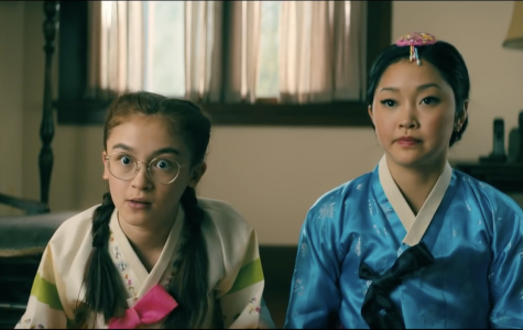 (Left to right) Kitty Covey and Lara Jean Covey, played by Anna Cathcart and Lana Condor. PHOTO COURTESY/Youtube Netflix
