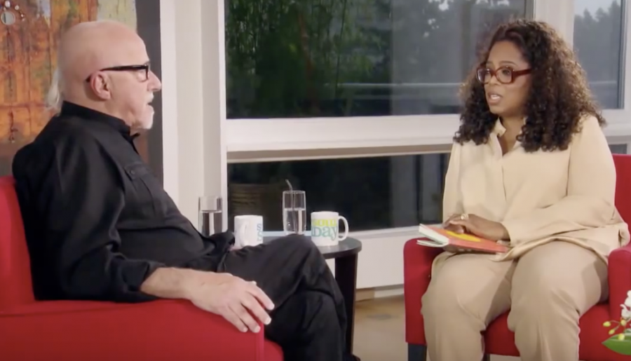 """Paul Coehlo, author of """"The Alchemist,"""" shares a personal story in an interview on SuperSoul Sunday, Oprah Winfrey's award-winning series."""