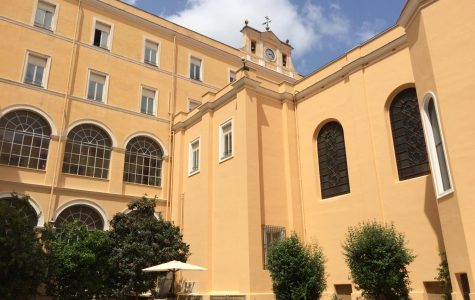 St. John's University's Rome Campus Central Courtyard. PHOTO/WIKIMEDIA COMMONS