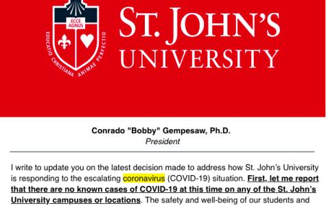 A Timeline of Coronavirus Developments at St. John's