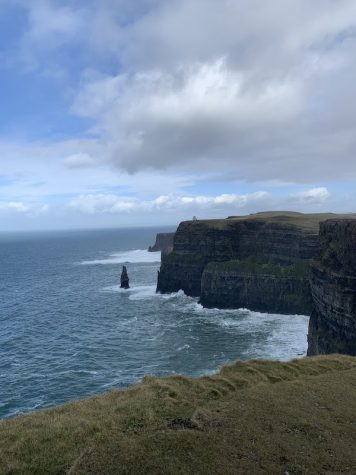 Cliffs of Moher four days before we were sent home. TORCH PHOTO/ SARA RODIA