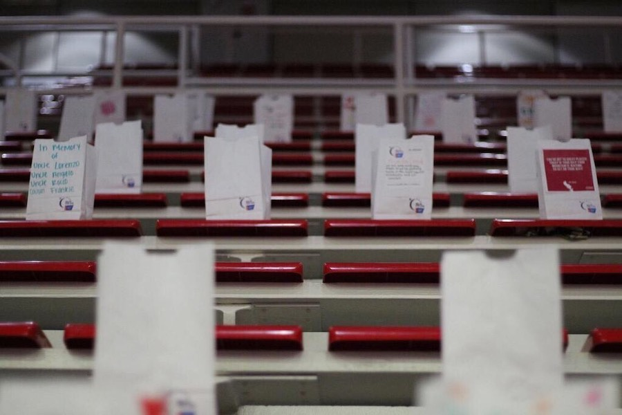 Relay for Life is normally held in Carnesecca Arena – this year, the event took place online.  TORCH PHOTO/ AMANDA NEGRETTI