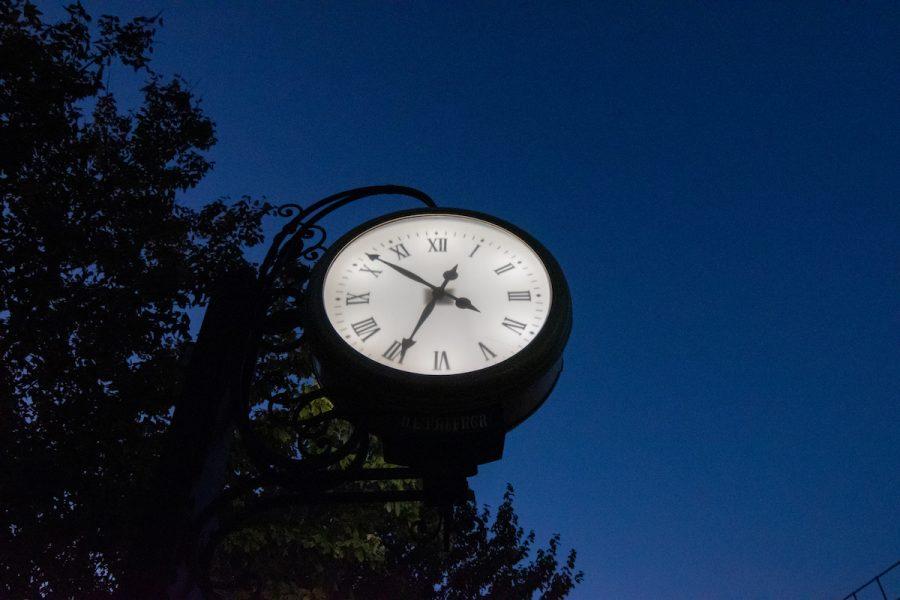 clock campus