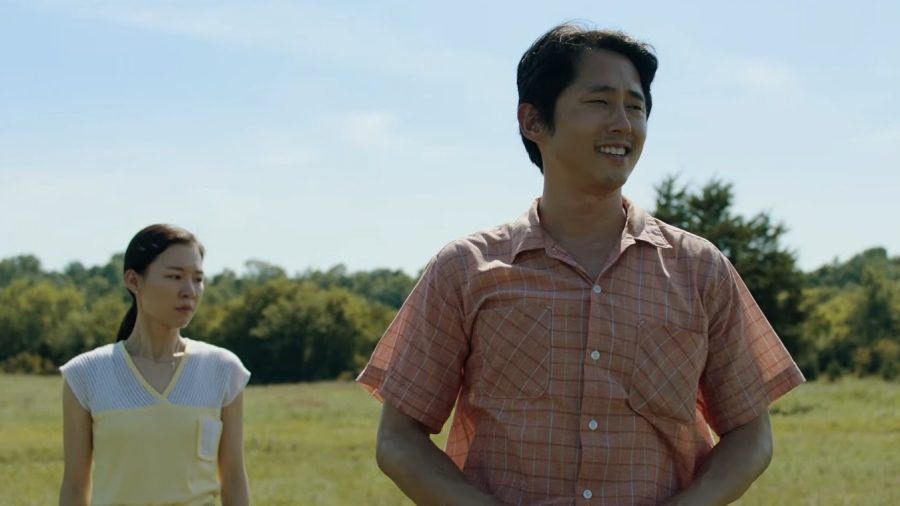 Han Ye-ri and Steven Yeun star in the autobiographical film, Minari. Photo Courtesy/ YouTube A24