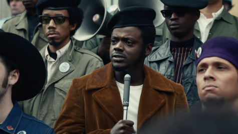 "Fred Hampton played by Daniel Kaluuya in ""Judas and the Black Messiah."""