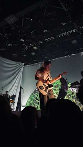 Clairo performs at Brooklyn Steel on Nov. 4, 2019